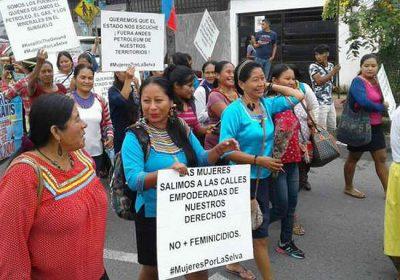 mujeres-amazonicas-anuncian-marcha-hacia-palacio-de-gobierno