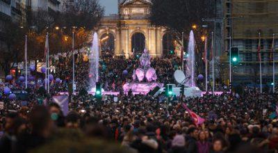 Manifestación Feminista en Madrid