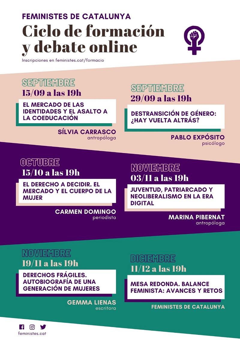 formacion debate feministes catalunya