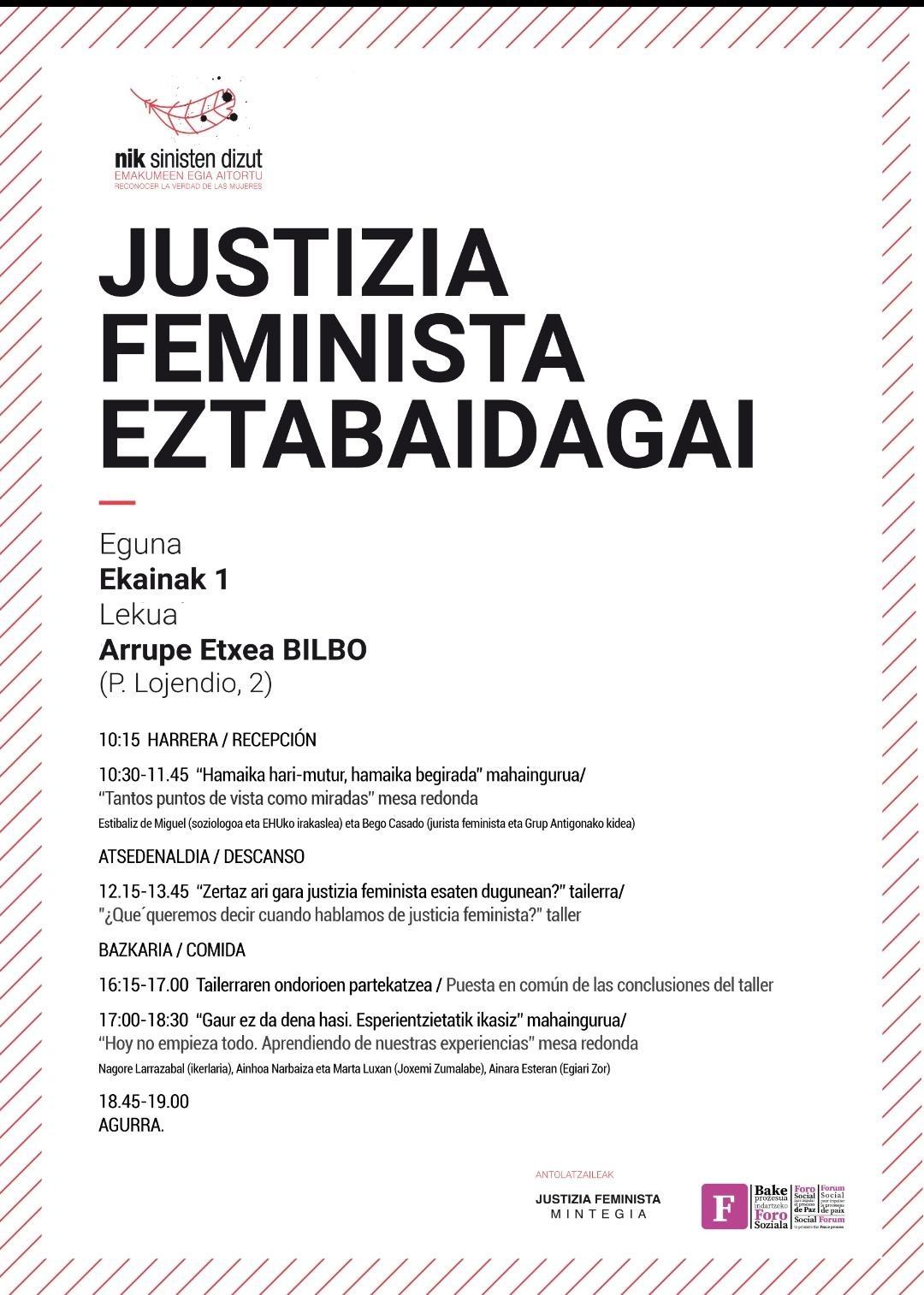 Justizia Feminista mintegia