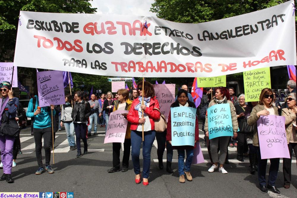 trabajadoras-hogar-Ecuador-Etxea